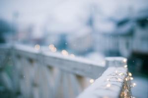 lights snow